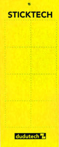 Dudutech - Sticktech Yellow